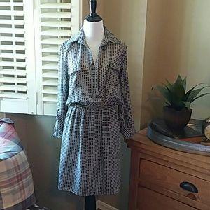 M.S.S.P Long/Roll Tab Sleeve Dress